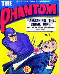 The Phantom: Smashing the Crime Ring: Is... Volume Issue 3 by Falk, Lee