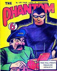 The Phantom: The Phantom's Treasure Stol... Volume Issue 5 by Falk, Lee