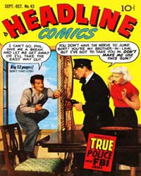 Headline Comics : Issue 43 Volume Issue 43 by Prize Comics Group