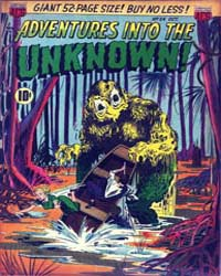Adventures into the Unknown : Issue 24 Volume Issue 24 by American Comics Group/Acg