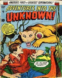Adventures into the Unknown : Issue 44 Volume Issue 44 by American Comics Group/Acg