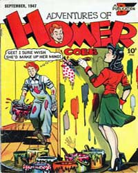 Adventures of Homer Cobb : Issue 1 by Adventures of Homer