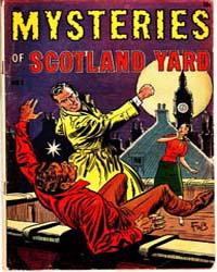 A-1 Comics : Scotland Yard : Issue 121 Volume Issue 121 by Magazine Enterprises