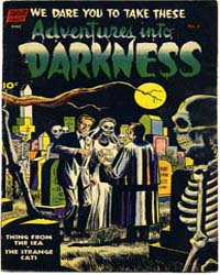 Adventures into Darkness : Issue 6 Volume Issue 6 by Better/Nedor/Standard/Pines Publications