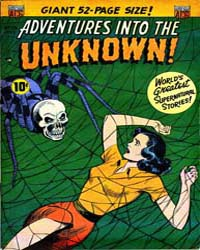 Adventures into the Unknown : Issue 33 Volume Issue 33 by American Comics Group/Acg