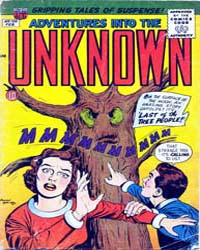 Adventures into the Unknown : Issue 105 Volume Issue 105 by American Comics Group/Acg