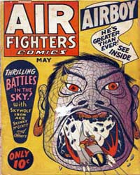 Air Fighters Comics : Vol. 1, Issue 8 Volume Vol. 1, Issue 8 by Hillman Periodicals