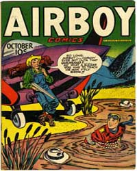 Airboy Comics : Vol. 4, Issue 9 Volume Vol. 4, Issue 9 by Biro, Charles