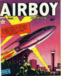 Airboy Comics : Vol. 6, Issue 8 Volume Vol. 6, Issue 8 by Biro, Charles