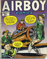Airboy Comics : Vol. 4, Issue 8 Volume Vol. 4, Issue 8 by Biro, Charles