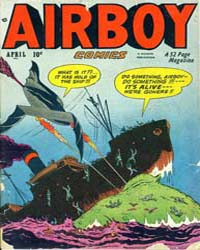 Airboy Comics : Vol. 7, Issue 3 Volume Vol. 7, Issue 3 by Biro, Charles