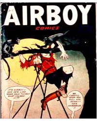 Airboy Comics : Vol. 7, Issue 10 Volume Vol. 7, Issue 10 by Biro, Charles