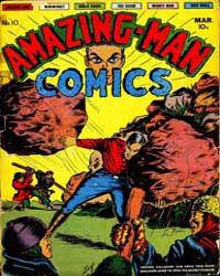 Amazing Man Comics : Issue 10 Volume Issue 10 by Centaur Publishing