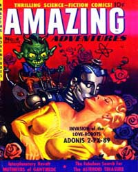 Amazing Adventures : Issue 4 Volume Issue 4 by Ziff-Davis Publications