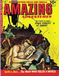 Amazing Adventures : Issue 6 Volume Issue 6 by Ziff-Davis Publications