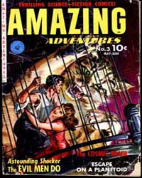 Amazing Adventures : Issue 3 Volume Issue 3 by Ziff-Davis Publications
