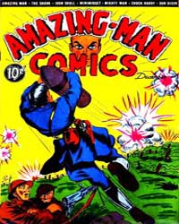 Amazing Man Comics : Issue 8 Volume Issue 8 by Centaur Publishing