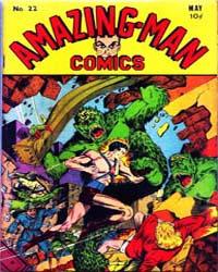 Amazing Man Comics : Issue 22 Volume Issue 22 by Centaur Publishing