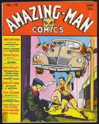 Amazing Man Comics : Issue 19 Volume Issue 19 by Centaur Publishing
