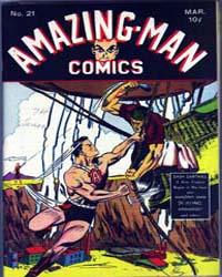 Amazing Man Comics : Issue 21 Volume Issue 21 by Centaur Publishing