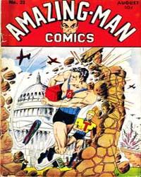 Amazing Man Comics : Issue 23 Volume Issue 23 by Centaur Publishing