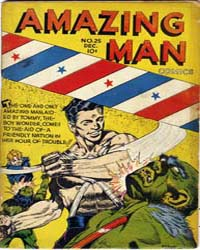 Amazing Man Comics : Issue 25 Volume Issue 25 by Centaur Publishing