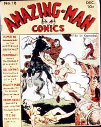 Amazing Man Comics : Issue 18 Volume Issue 18 by Centaur Publishing