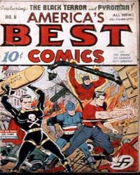 America's Best Comics : Issue 8 Volume Issue 8 by Better/Nedor/Standard/Pines Publications