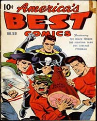 America's Best Comics : Issue 20 Volume Issue 20 by Better/Nedor/Standard/Pines Publications