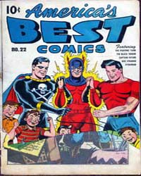 America's Best Comics : Issue 22 Volume Issue 22 by Better/Nedor/Standard/Pines Publications