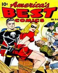 America's Best Comics : Issue 24 Volume Issue 24 by Better/Nedor/Standard/Pines Publications