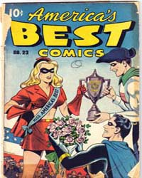 America's Best Comics : Issue 23 Volume Issue 23 by Better/Nedor/Standard/Pines Publications