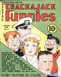 Buck Jones Crackajack Comics : Issue 3 Volume Issue 3 by Dell Comics