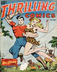 Thrilling Comics: Issue 59 Volume Issue 59 by Standard Comics