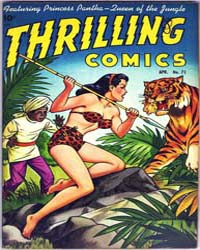 Thrilling Comics: Issue 71 Volume Issue 71 by Standard Comics