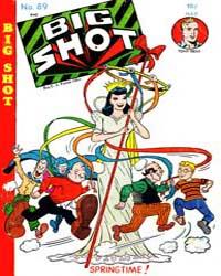 Big Shot Comics : Issue 89 Volume Issue 89 by Columbia Comics