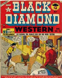Black Diamond Western : Issue 14 Volume Issue 14 by Lev Gleason Publications