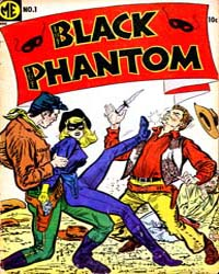 A-1 Comics : Black Phantom : Issue 122 Volume Issue 122 by Magazine Enterprises