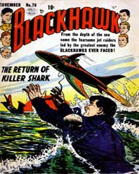 Blackhawk : Issue 70 Volume Issue 70 by Quality Comics