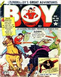 Boy Comics : Issue 106 Volume Issue 106 by Lev Gleason Publications