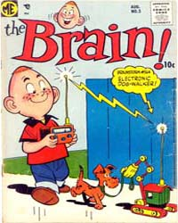The Brain: Issue 3 Volume Issue 3 by Magazine Enterprises