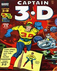 Captain 3D : Issue 1 Volume Issue 1 by Harvey Comics
