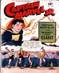 Captain Marvel Jr. : Issue 109 Volume Issue 109 by Fawcett Magazine