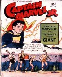 Captain Marvel Jr. : Issue 109 Volume Issue 109 by Fawcett Magazine
