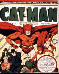 Cat-Man Comics : Issue 7 Volume Issue 7 by Holyoke Publishing