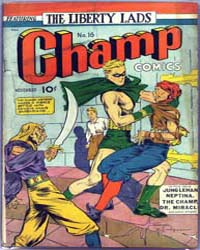 Champ Comics : Issue 16 Volume Issue 16 by Harvey Comics