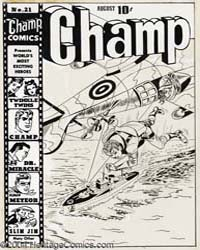 Champ Comics : Issue 21 Volume Issue 21 by Harvey Comics