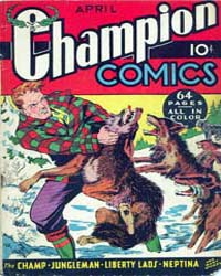Champion Comics : Issue 6 Volume Issue 6 by Harvey Comics
