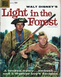 Movie Westerns: Light in the Forest by Dell Comics