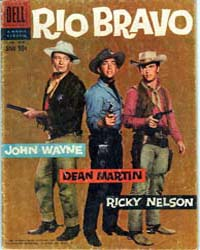 John Wayne Adventure Comics : Rio Bravo ... Volume Issue 1018 by Dell Comics